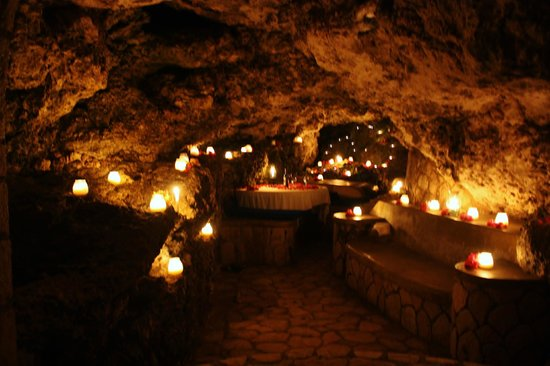 Dinner in a Cave