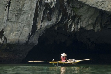 Dark & Light Cave in Ha Long Bay