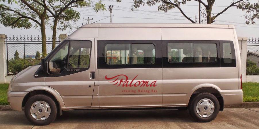 Shuttle bus Hanoi Halong