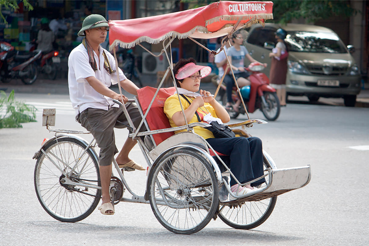 Getting around Vietnam