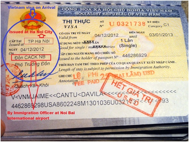 How to get visa in Vietnam